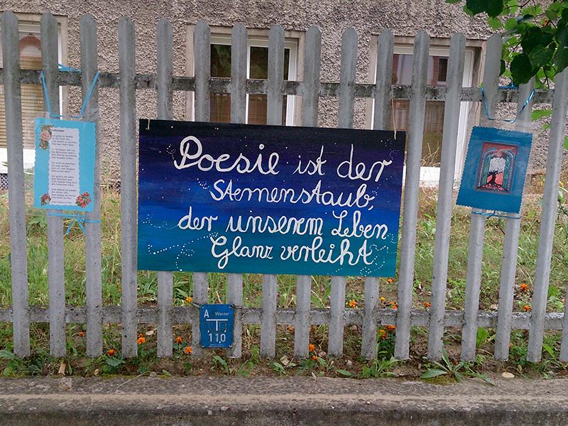 Die Menschen in Buckow haben eindeutig ein sehr großes Herz für die Dichtung.