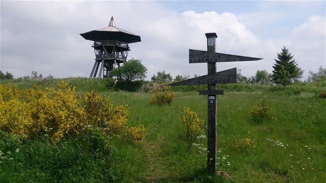 Aussichtsturm auf der Preußischen Velmerstot