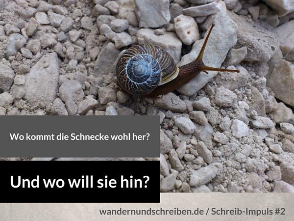 Schreib-Impuls #2 Schneckenweg