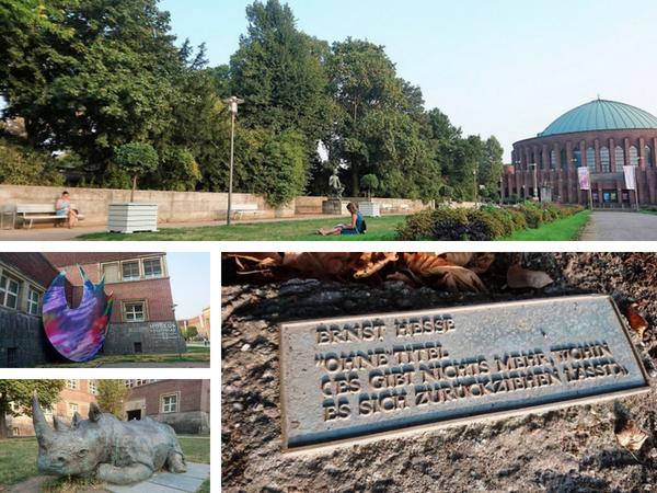 #stadtschreiben im Ehenhof in Düsseldorf: Spannende Geschichten, Gedichte und Texte entstanden hier