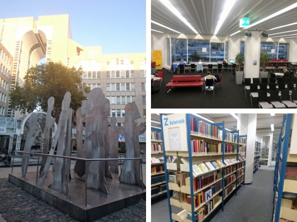 #stadtschreiben in der Zentralbibliothek Düsseldorf